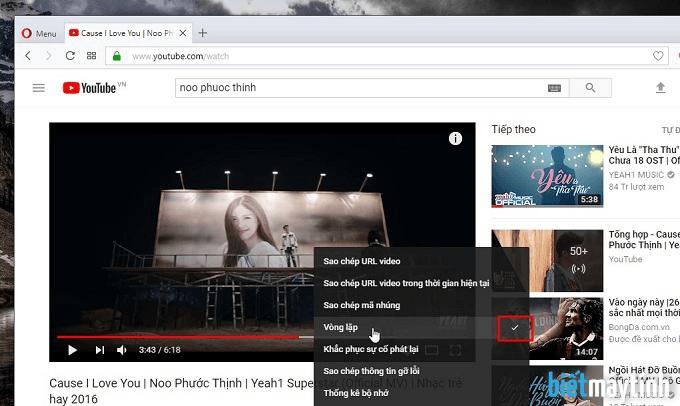 Cách phát lại video Youtube đơn giản