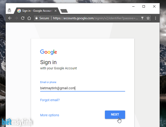 Lấy lại mật khẩu gmail bang so dien thoai