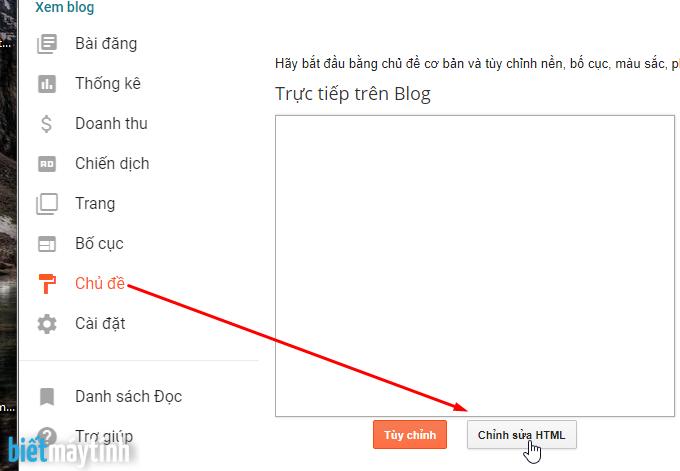 Cách thay đổi template cho Blogspot (#6)