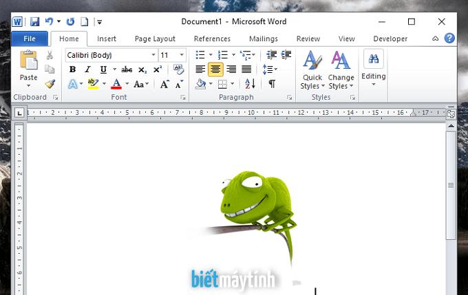 Cách chèn ảnh vào file Word nhanh