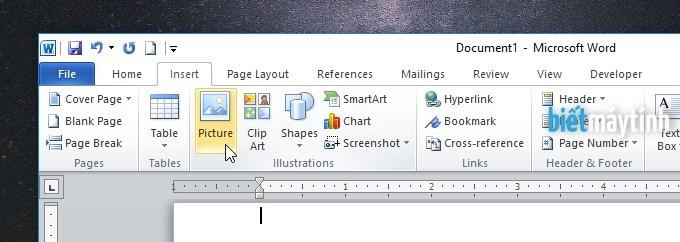 Cách chèn chữ vào ảnh trong Word