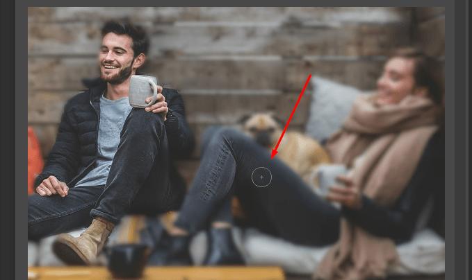cách làm mờ ảnh phía sau bằng photoshop online
