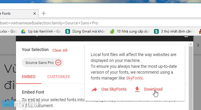 cách download font chữ việt hóa và cài đặt