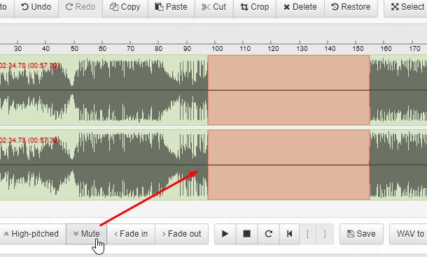 Chỉnh sửa nhạc online | Cắt, ghép, chuyển đổi, ghi âm, chỉnh âm lượng