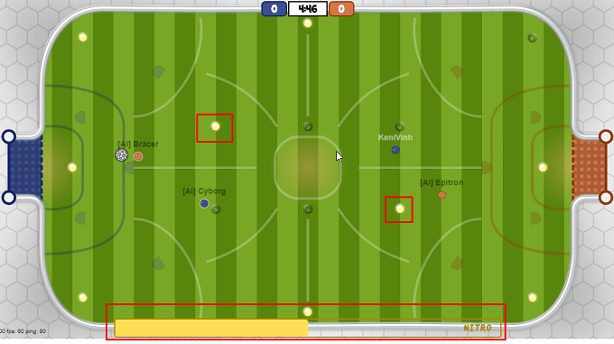Chơi game đá bóng online