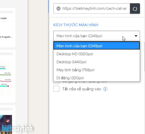 Cách chuyển đổi html sang jpg, svg trực tuyến