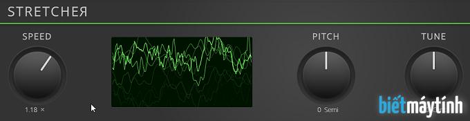 Cách chỉnh tốc độ bài hát online