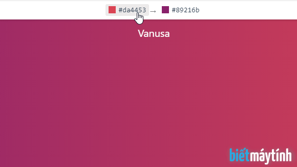 Tạo và tải hình nền gradient cho máy tính và điện thoại smartphone