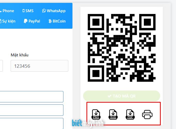 Hướng dẫn tạo mã qr cho wifi trực tuyến