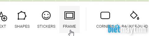 Tạo khung ảnh đơn giản đẹp trực tuyến